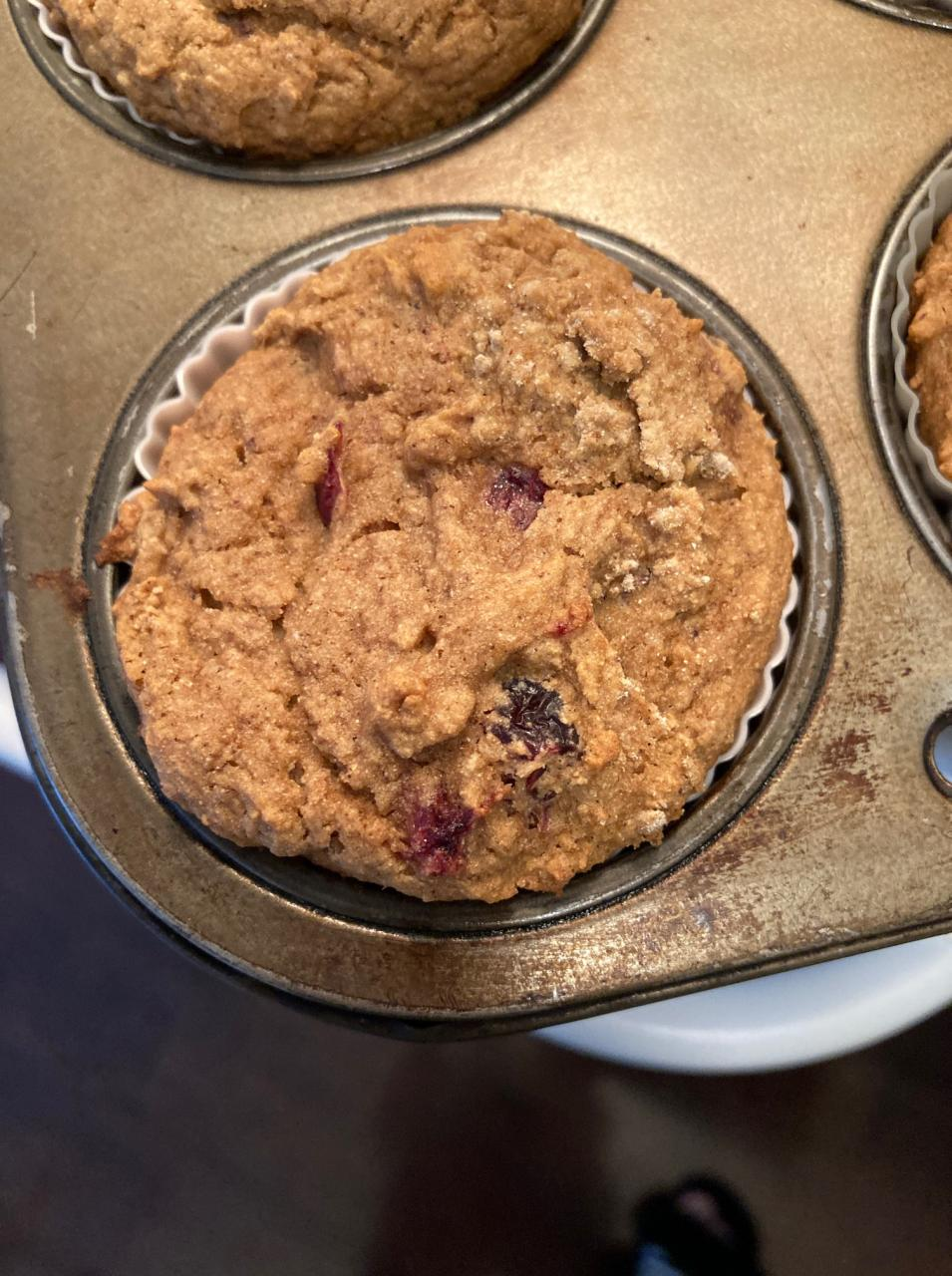 Cranberry Orange Muffins (Vegan and Gluten-free)